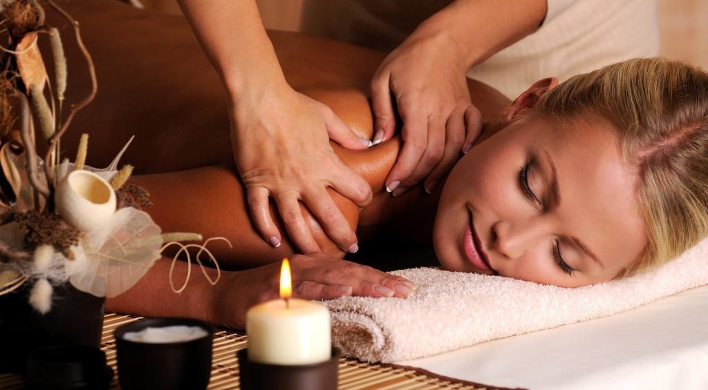 Massage Of Shoulder